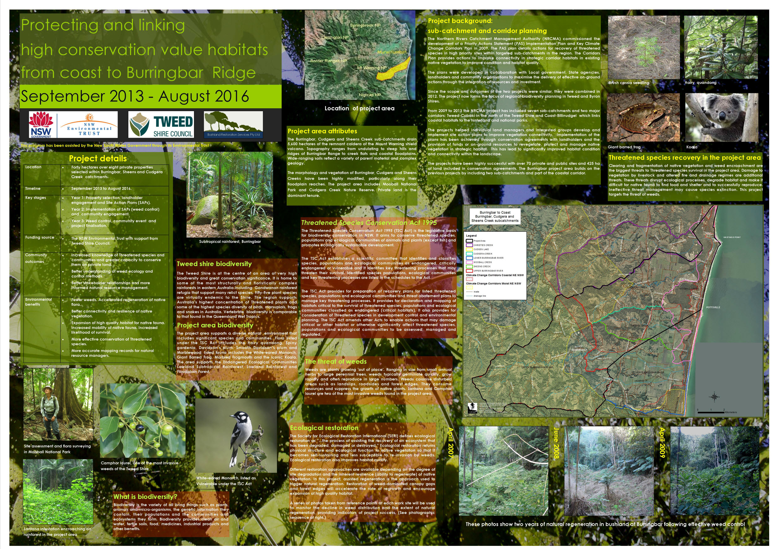 Environmental education media | Bushland Restoration Services